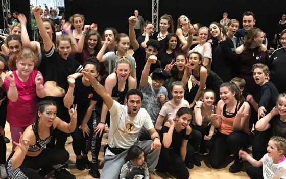 Bollywood Masterclass at Move It 2017