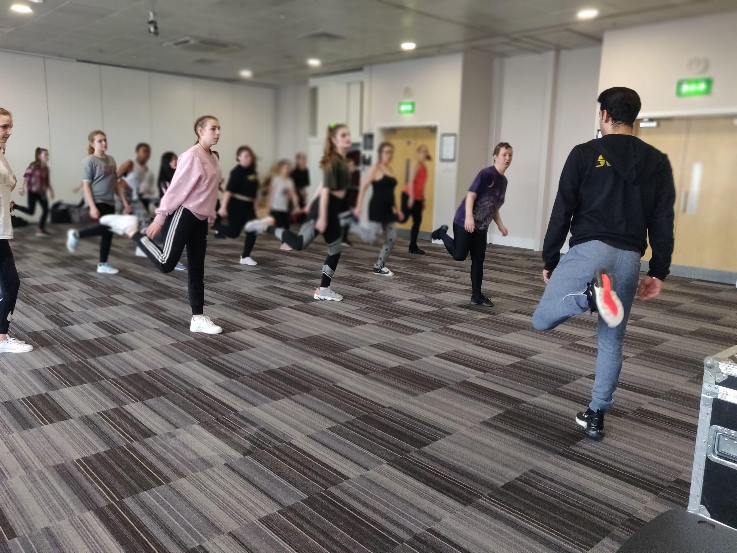 Dance workshop dance