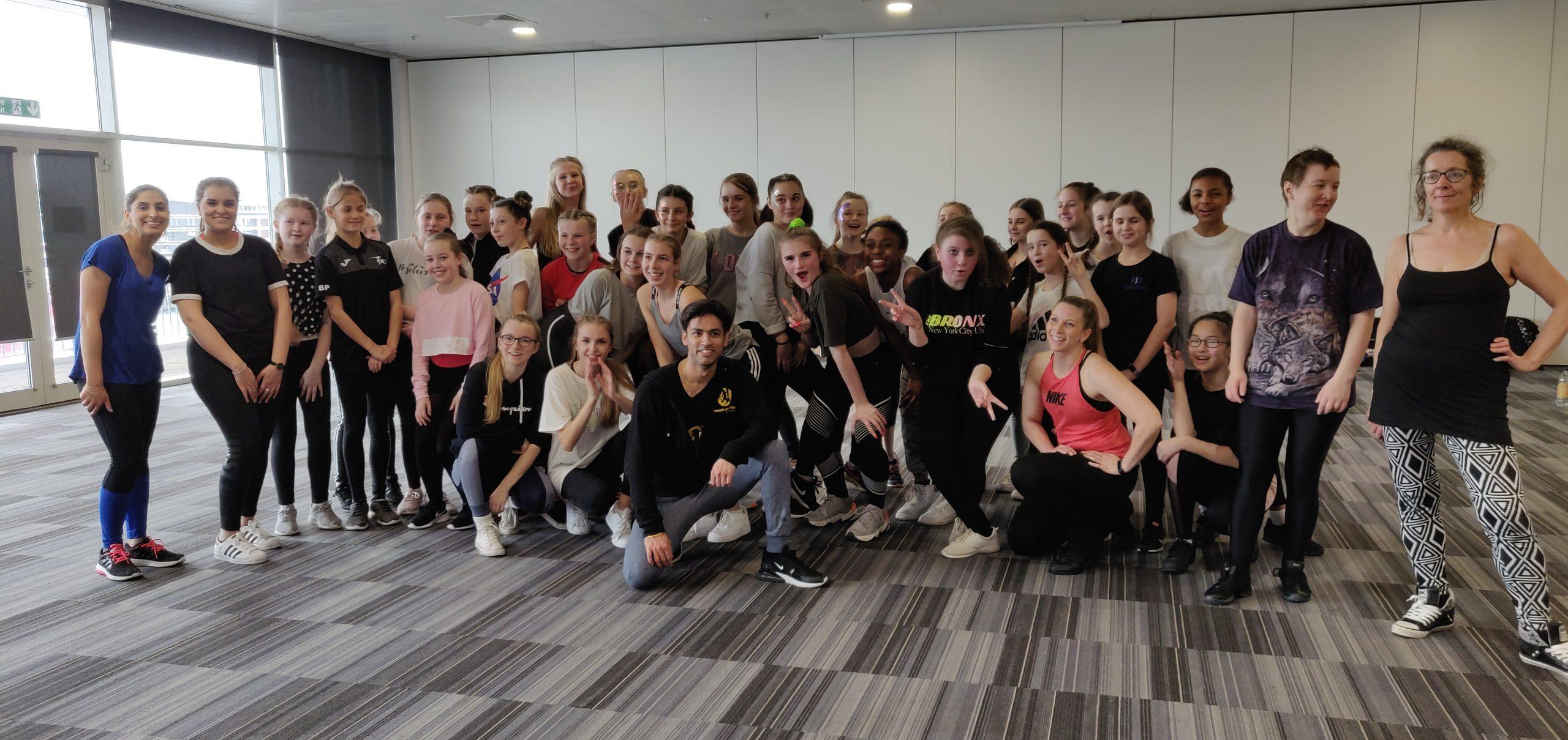 Dance workshop bollywood