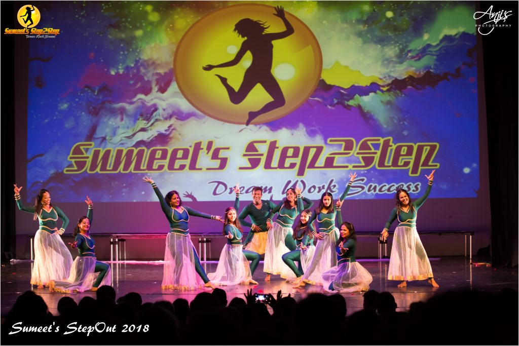 Abbey Wood bollywood dance sumeetsstep2step